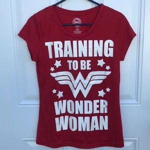 DC Comics, Wonder Woman graphic tee, new, sz  L